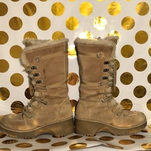 Shoes - Suede Snow Boots